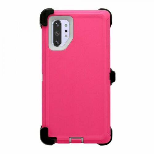 Phone case for Samsung Note 10 Plus - Pink White