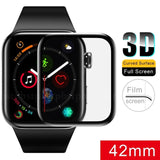 DIAMOND GLASS PROTECTOR APPLE WATCH SERIES 3 42MM SMART CURVED EDGE TO EDGE