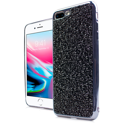 iPhone 8 Plus /7P CHROME ONYX Pearl Case Black