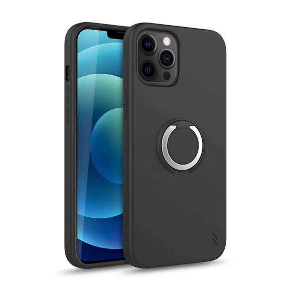 ZIZO REVOLVE SERIES IPHONE 12 / IPHONE 12 PRO CASE - MAGNETIC BLACK
