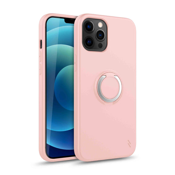 ZIZO REVOLVE SERIES IPHONE 12 / IPHONE 12 PRO CASE - ROSE QUARTZ