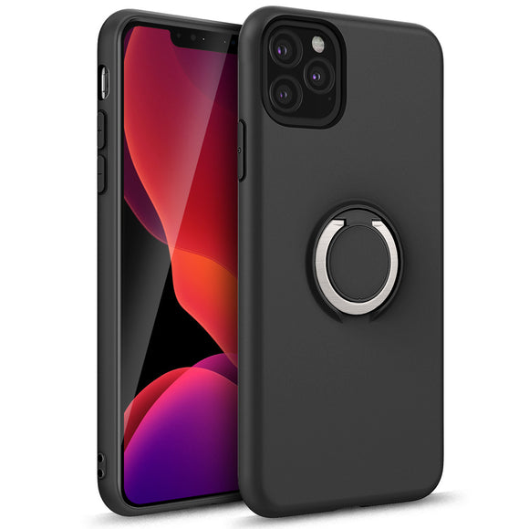 ZIZO REVOLVE SERIES IPHONE 11 PRO (2019) CASE - BUILT IN RING HOLDER KICKSTAND AND MAGNETIC MOUNT-Black