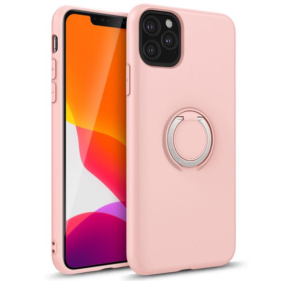 ZIZO REVOLVE SERIES IPHONE 11 PRO MAX (2019) CASE - BUILT IN RING HOLDER KICKSTAND AND MAGNETIC MOUNT-Rose