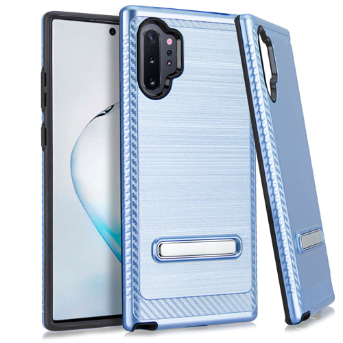 Samsung Note 10 PRO Metal Stand Brushed Case Dr. Blue