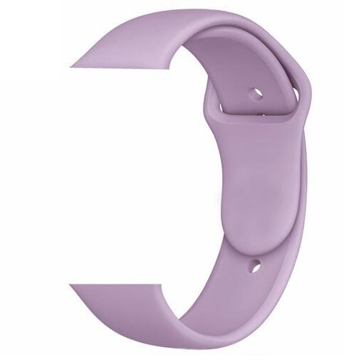 Apple Watch Silicone band 44mm/42mm series - Purple