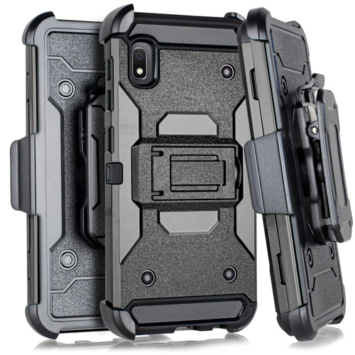Samsung A10E Heavy Duty Tactical Combo Black