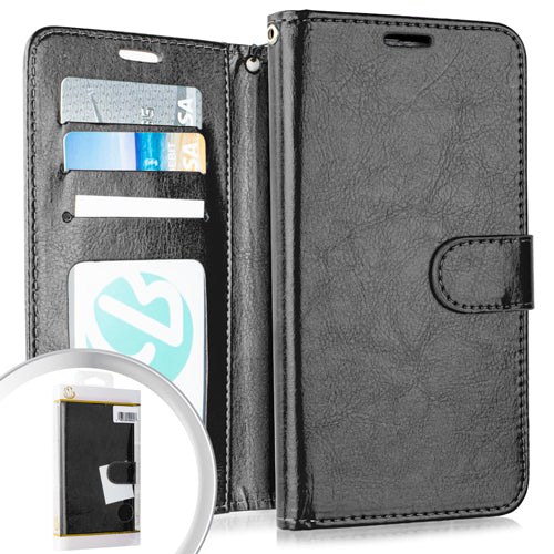PKG iPhone 8 Plus /7P /6P Wallet Pouch 3 Black