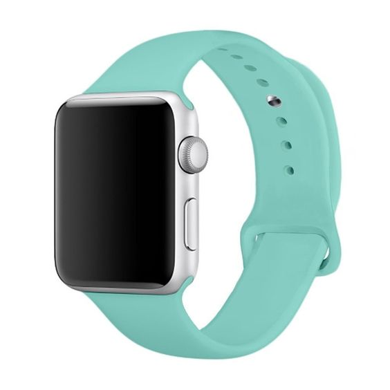 Apple Watch Silicone band 40mm 38mm series 5/4/3/2 -  Teal
