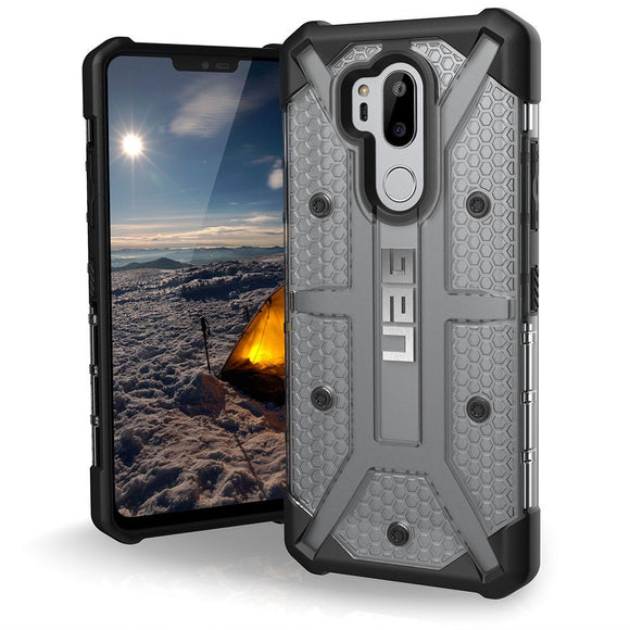 Urban Armor Gear (UAG) LG G7 ThinQ Plasma Case -ICE Mil Spec Tough, Rugged Cover