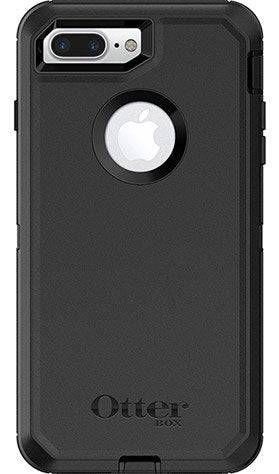 OtterBox 77-54041 DEFENDER SERIES Case for iPhone 8 Plus & iPhone 7 Plus (ONLY) - BLACK