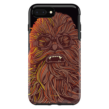 OtterBox Apple iPhone 8 Plus/7 Plus Star Wars Symmetry Case Chewbacca