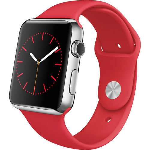 Apple Watch Silicone band 44mm 40mm series 6/5/4/3/2 -  Red