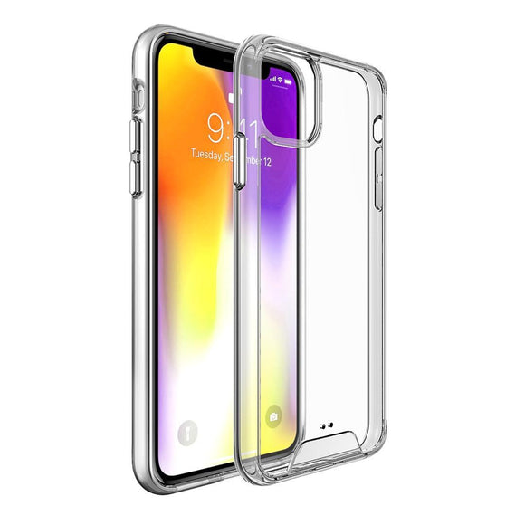 Silicone Clear Hard Tpu for iPhone 12 / 12 Pro