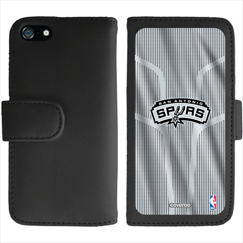 Coveroo San Antonio Spurs Jersey Design on iPhone 5 and 5S Wallet Folio Case