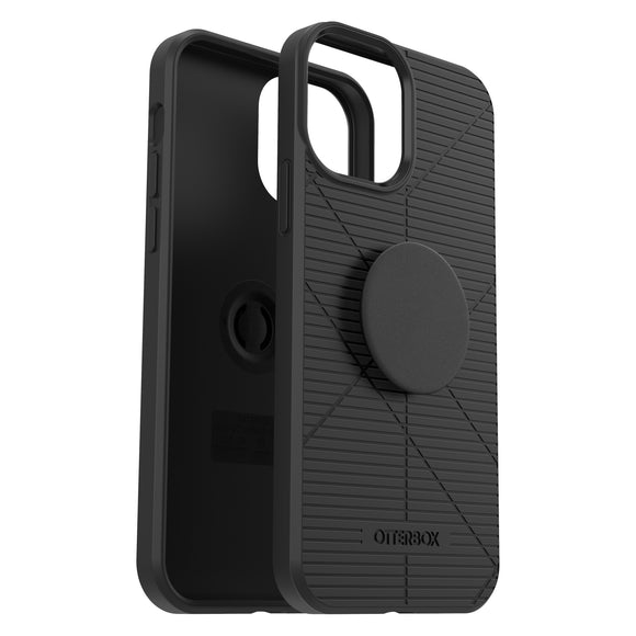 OtterBox Otter+Pop Reflex Series Phone Case for Apple iPhone 12 Pro Max - Black
