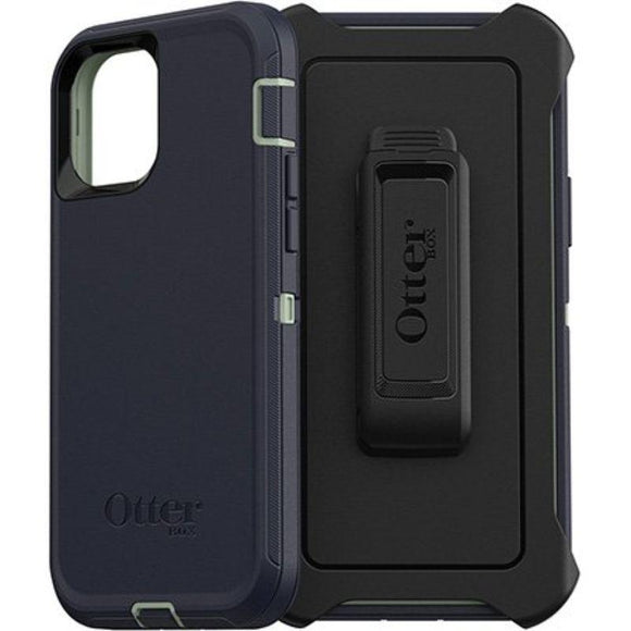 Otter Box Defender Rugged Protective  Case(Varsity Blues)- iPhone 12/12 PRO