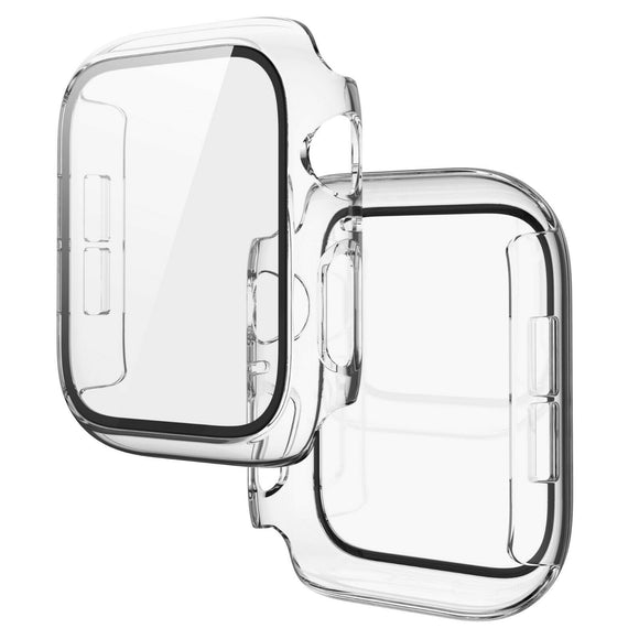 Apple Watch Glass Protector Case Cover Size 44mm Clear
