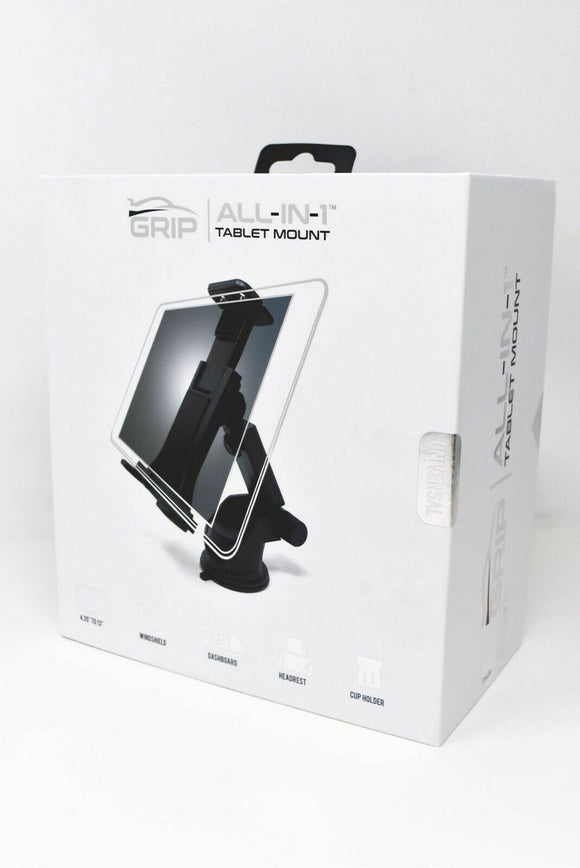 Grip All-in-1 Tablet Car Mount for Tablets up to 13 inches (Universal)