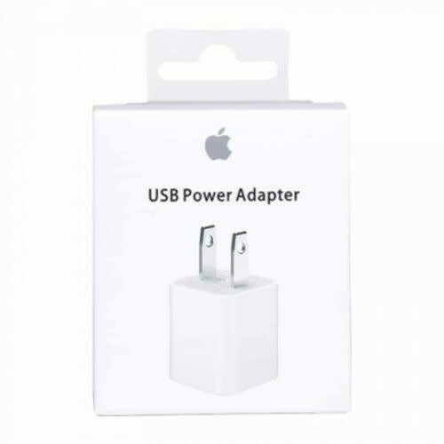 Apple - USB Power Adapter - White (Retail Box)
