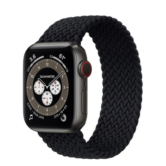 Sport Loop Apple Watch Band Size 38/40 Black