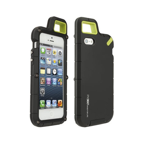 PureGear PX360 Extreme Protection System for iPhone 5 5s SE (Matte Black)