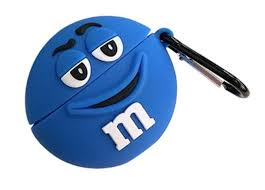 Airpod Pro Silicone M&M (Mr Blue)