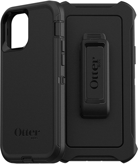 iPhone 12/12 Pro Otterbox Black Defender Series Case