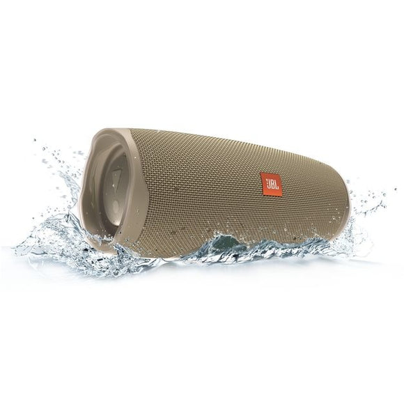JBL Charge 4 Portable Bluetooth Speaker - Sand
