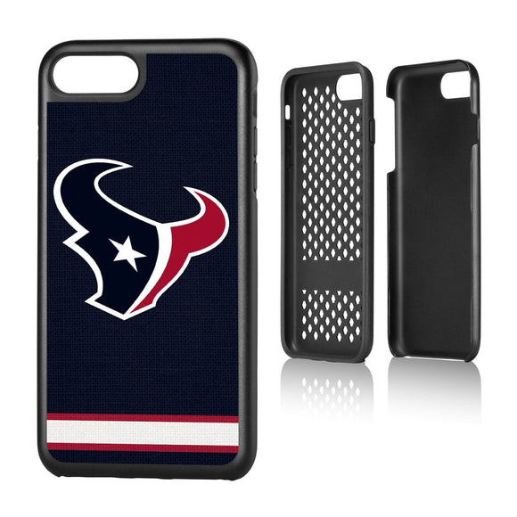 Houston Texans Stripe iPhone 7+ / 8+ Rugged Case