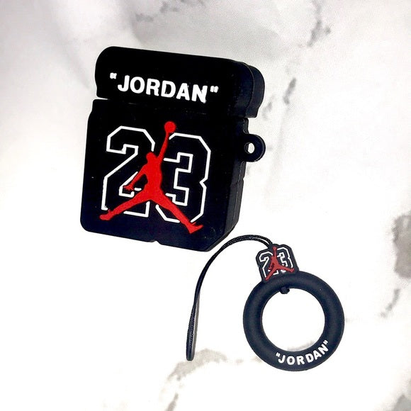 Airpod 1/2 Jordan Box Black  Case