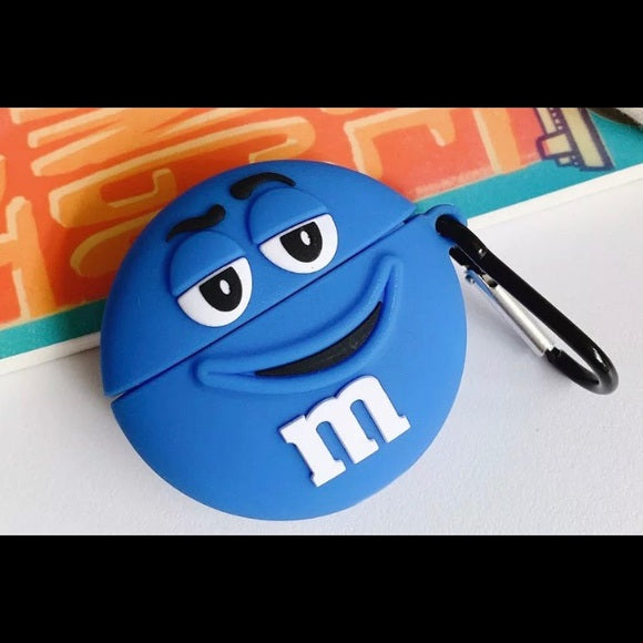 Airpod 1/2 Silicone M&M (Mr Blue)