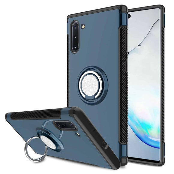 Galaxy Note 10 Slim Magnetic Ring Case - Blue