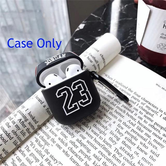 Airpod 1/2 Jordan 23 Jersey Black Case