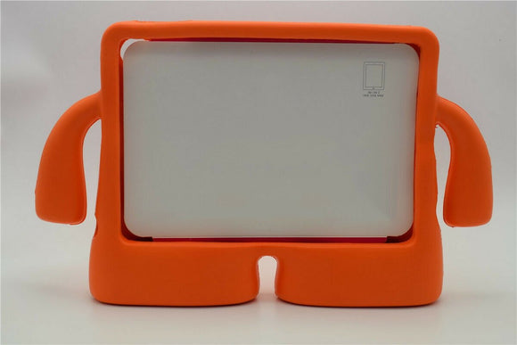 IBUY Kids Safe Rubber Shockproof EVA Foam Stand Case Cover for Apple iPad Air3/ Pro10.5/iPad 10.2- Orange