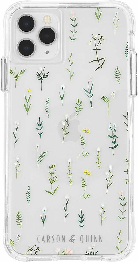 Carson & Quinn Dainty Botanical Case - iPhone 11 Pro/Xs/X