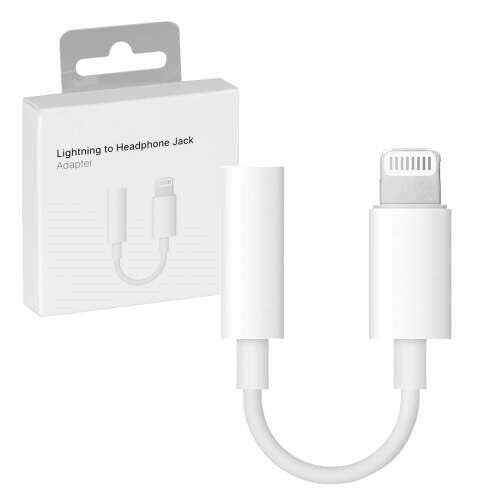 J002 Apple Lightning to 3.5mm Headphone Jack Adapter **Bluetooth Version**