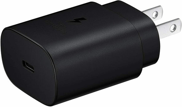 EP-TA800 Type C Samsung Adapter (Black) - BULK
