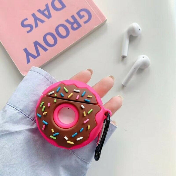 Airpods Pro Silicone Skin- Donut Pink
