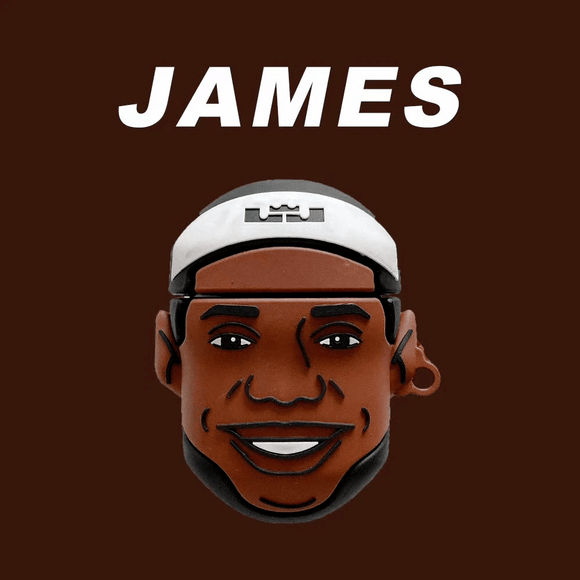 Airpod 1/2 Lebron James Silicone Case