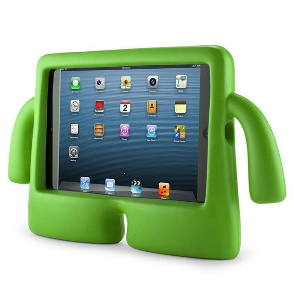 IBUY Kids Safe Rubber Shockproof EVA Foam Stand Case Cover for Apple iPad Air3/ Pro10.5/iPad 10.2- Green
