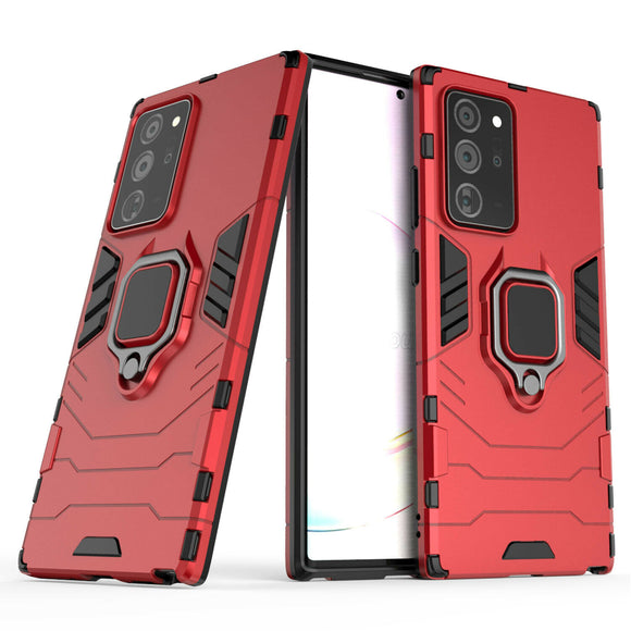 Samsung Note 20 Armor Magnet case- Red