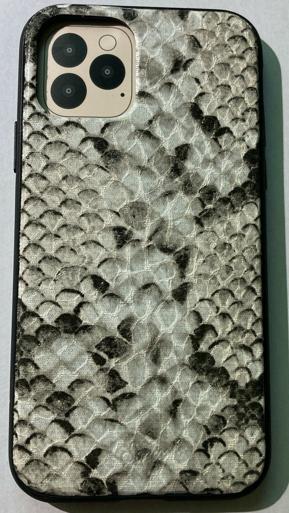 Sonix Gray Python Leather Series Case  IPhone 11 Pro