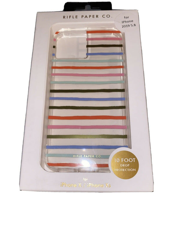 Rifle Paper Co. Stripe Case  IPhone 11 Pro