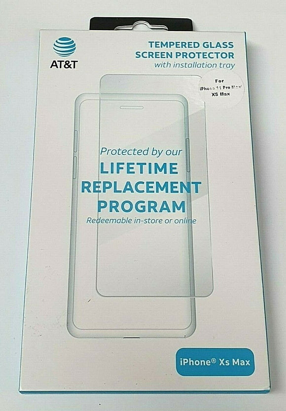 AT&T Tempered Glass iPhone 11ProMax/XSMax