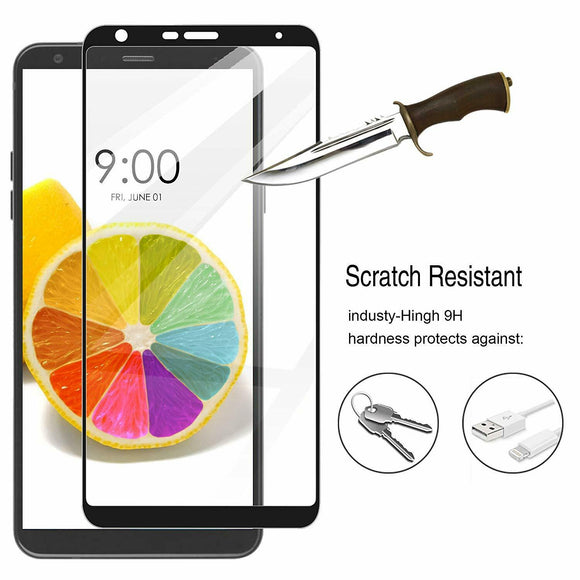 Full Cover Screen Protector For LG Stylo 5 Tempered Glass