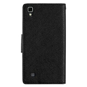 For LG X Power Stand Case Purse Hybrid Wallet Pouch Screen Flip Cover