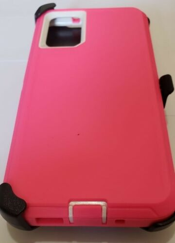 PHONE CASE WITH CLIP S20 ULTRA - PINK