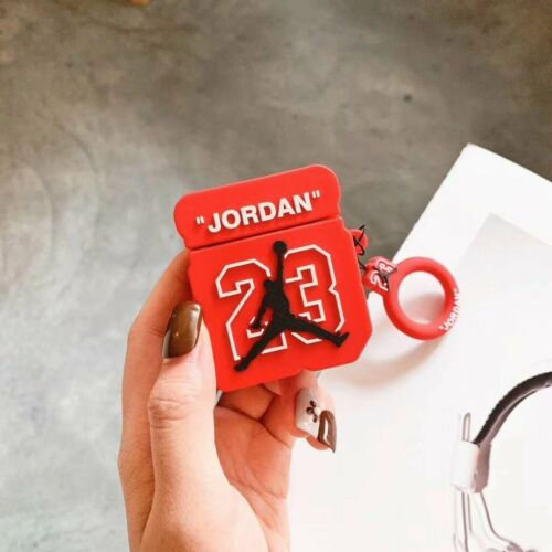 Airpod 1/2 Jordan Box Red Case