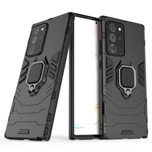 Samsung Note 20 Ultra Armor Magnet case- Black