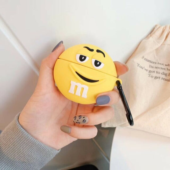 Airpod 1/2 Silicone M&M (Mr Yellow)